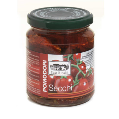Pomodori Secchi In Olio 270g X 12ud Casa Rinaldi