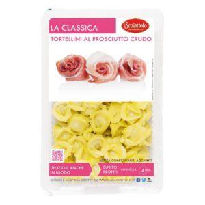 Tortellini Prosc.crudo 0,20kg X9 Ud Scoiattolo