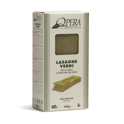 Lasagna Verde 0,5kg 12u Fazion