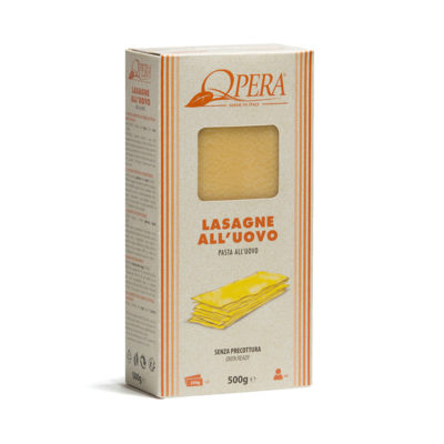 Lasagne All'uovo 0,5kg 12u Fazion
