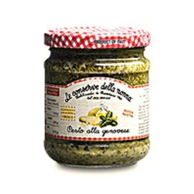 Pesto Alla Genovese 185g 12u Conserve Nonna