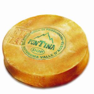 Fontina Valle D'aosta Dop 8kg 1u Prod Fo
