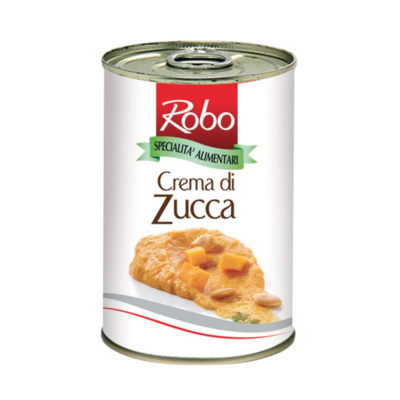 Crema Di Zucca 400g 6u Robo