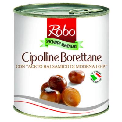 Cipolline Borettane All'aceto 1kg 6 Ud
