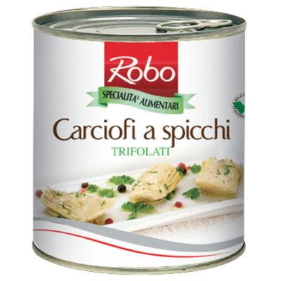 Carciofi Spicchi Trifolati 760g 6u Robo