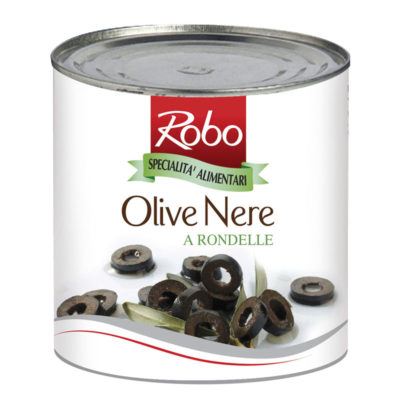 Olive Nere A Rondelle 2,4 G X6 Ud Robo