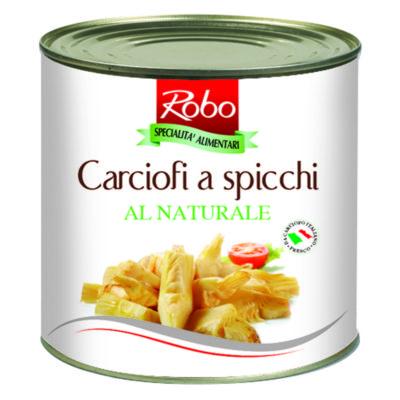 Carciofi Spicchi Al Natural 2,5 Kx6 Ud