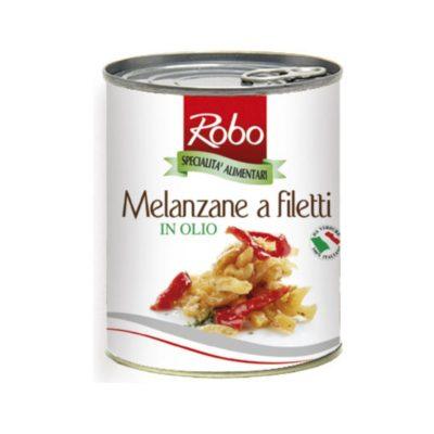 Melanzane Filetti 750 Gr X 6 Ud Robo
