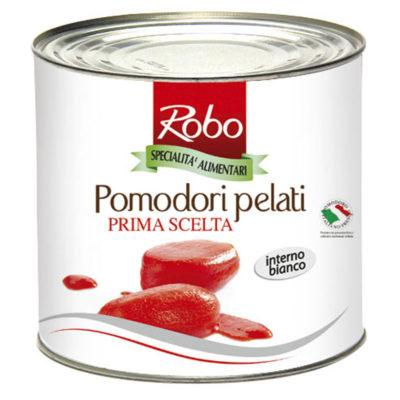 Pomodori Pelati 2,5 Kg X 6ud Robo