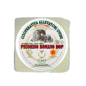 Pecorino Romano 1,2kgx4ud  1/24 Cao