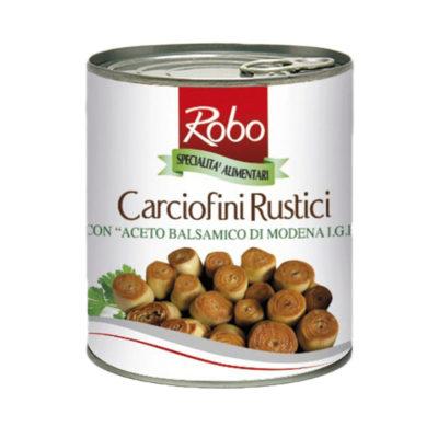 Carciofini Rustici Ac. Bals. Modena 760g X 6und