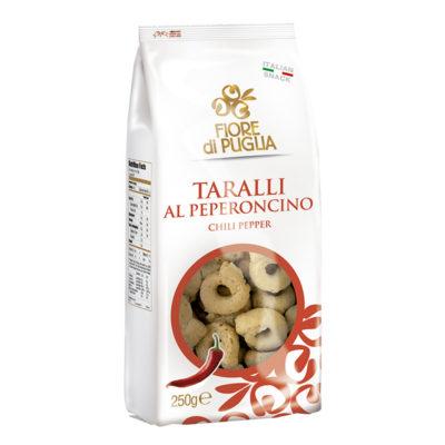 Taralli Al Peperoncino 250 Gr Fior Di Puglia