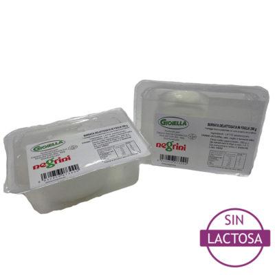 Burrata Sin Lactosa 0,200×8 Negrini