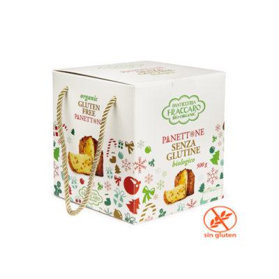 Panettone Bio Sin Gluten 500gx6uds Fraccaro