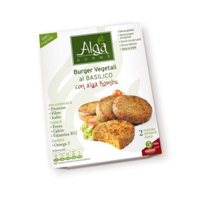 Burger Vegetale C/basilico Con Alga Kombu 200gx7u