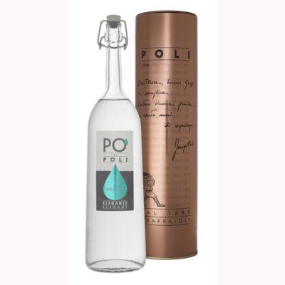 Grappa Elegante Pinot 40% Vol 0,70 L X 6ud Poli