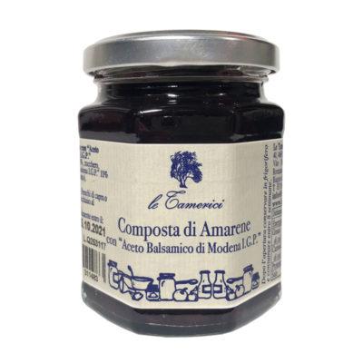 Composta Amarene&aceto Bal Igp 220g X 6ud Tamerici