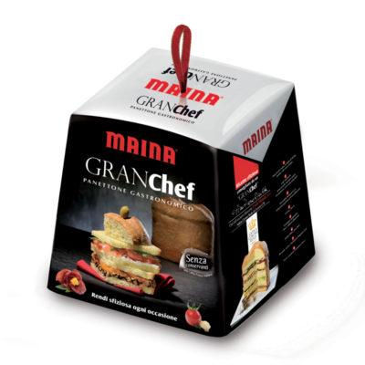 """Panettone """"gran Chef"""" In Astuccio 800gx6uds Maina"""