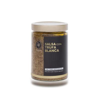 Salsa Con Trufa Blanca 500grx6uds Appennino Food
