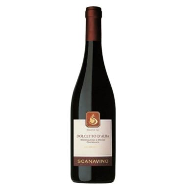 Dolcetto D'alba Doc Scanavino 0,75 X 6 Uds