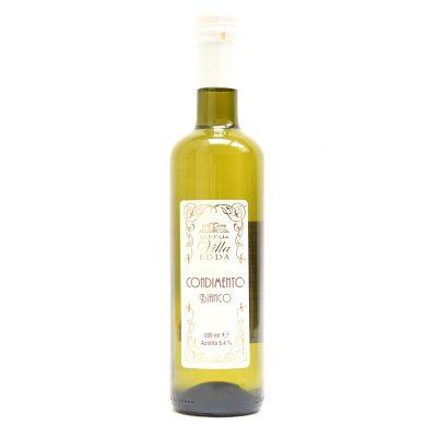 Condimento Aceto Balsam Bianco 0,5l 12u