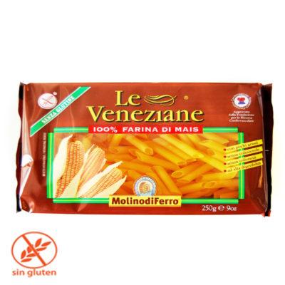 Penne Rigate Sin Gluten 250 Gr X 12 Veneziane