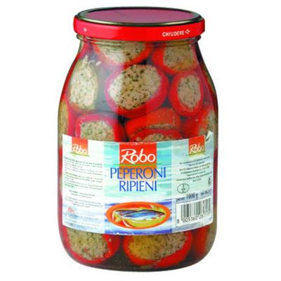 Peperoni Ripieni 1kg 6u  Robo