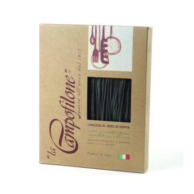 Linguine Nero Di Seppia 0,25kg 10u Campofilone