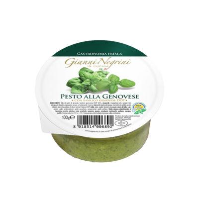 Pesto Fresco Dop 100gr Negrini X 12und