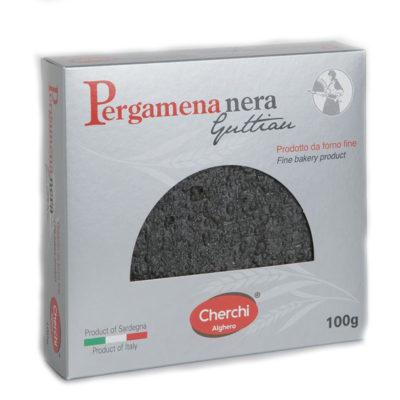 Pergamena Mini Pane Guttiau Nero 100gx20 Uds