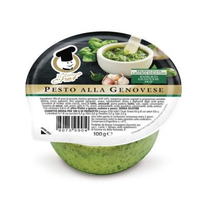"""Pesto Fresco Dop """"il Tuo Chef"""" 100grx12ud"""