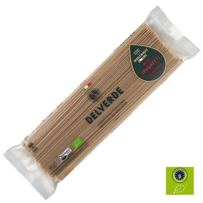 Spaghetti Integrali Bio 24udx0,5kg Delverde