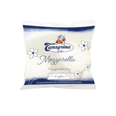 Mozzarella Fiordilatte Busta 125g X 16ud Tanagrina