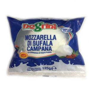Mozzarella Bufala 125g 10u Negrini