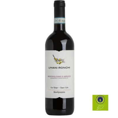 Montepulciano Bio Montipagano 0,75 X 6 Uds U.r