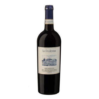 Brunello Di Montalcino Docg 0,75l 6u La Poderina