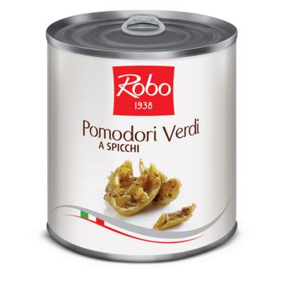 Pomodori Verdi A Spicchi 750gr X 6 Uds