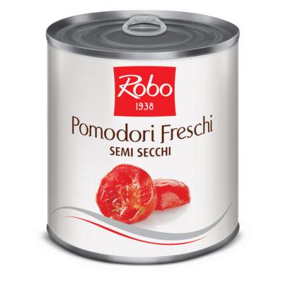 Pomodori Freschi Semi Secchi 750grx6 (sole Mio)