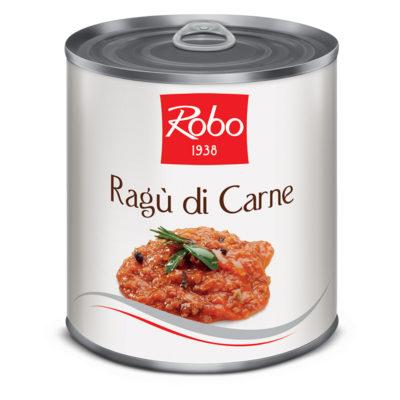Ragu Di Carne Suina 800g 6u Robo