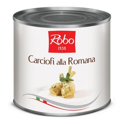 Carciofi Alla Romana 2,4 Kg X6 Ud Robo