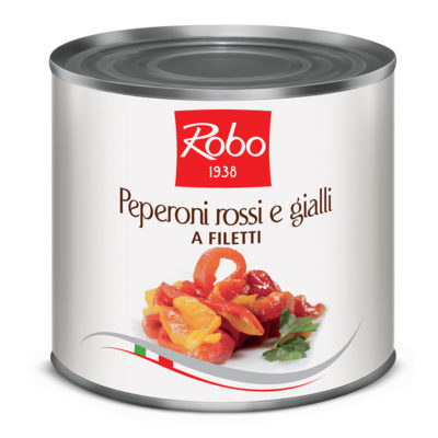 Peperoni Rossi E Gialli A Filetti 3kg X 6ud