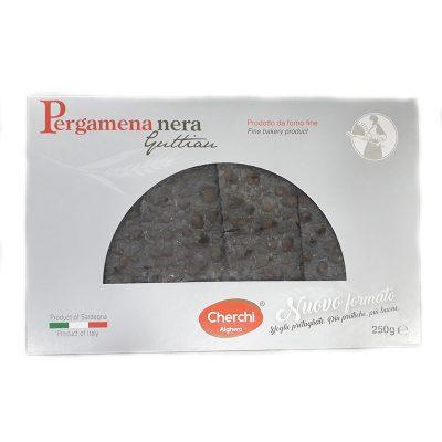 Cracker Pergamena Guttiau Nero 250gx12 Uds