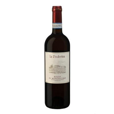 Rosso Di Montalcino 0,75l 6u La Poderina