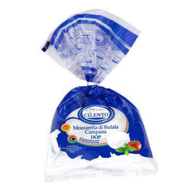 Mozzarella Bufala Dop Clip(busta)250gx8ud Cilento