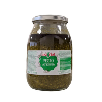 Pesto Genovese O.oliva 0,9kg 6u Negrini