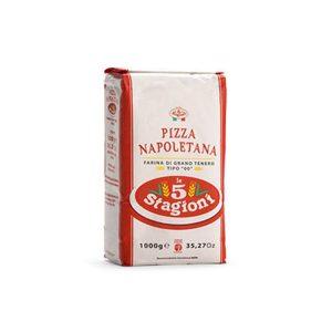 Farina Napoletana Per Pizza 1 Kg X 10 Uds  5 Stag