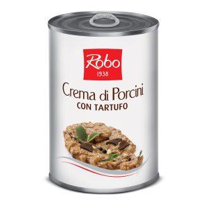 Crema F.porcini C/tartufo 400 Gx6u Robo
