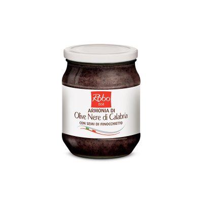 Armonia Olive Nere 530g 6u Robo