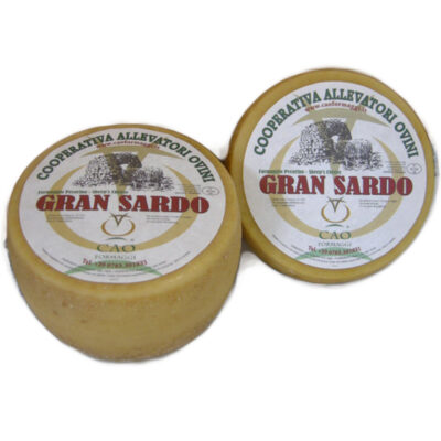 Pecorino Gran Sardo 1,75kg X 4 Unid