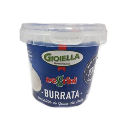Burrata 200gr In Secchiello X 8 Unid